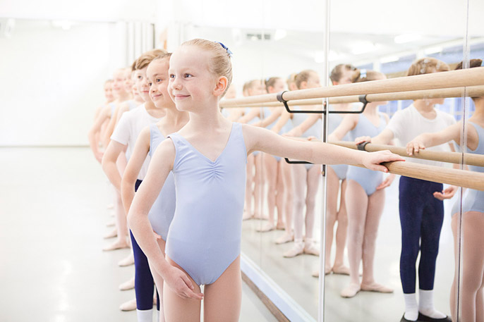 childrens ballet photography