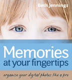 Memories at your fingertips by Beth Jennings book cover